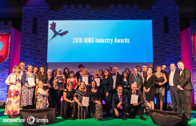 IRMS 2019 Award winners